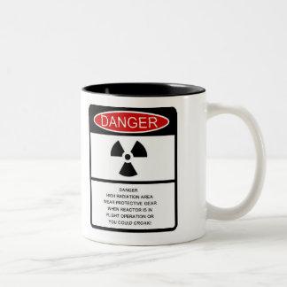 "Autumn Lake ""RADIATION HAZARD"" Coffee Mug"