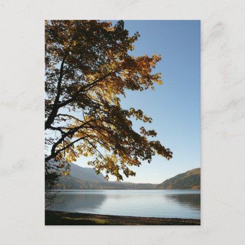 Autumn Lake Retreat postcard
