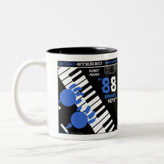 "Autumn Lake ""ROBOT PIANO"" Mug"