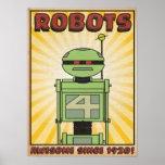 "Autumn Lake ""ROBOT"" Poster"