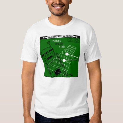 "Autumn Lake ""ROBOTIC VIBES LP COVER"" T-Shirt"