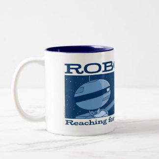"AUTUMN LAKE ""ROBOTICS!"" Blue Mug"