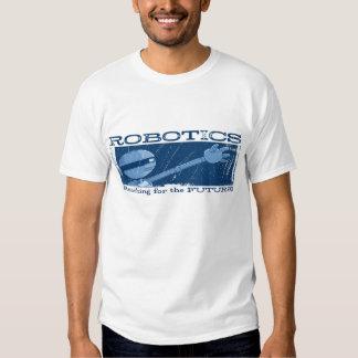 "AUTUMN LAKE ""Robotics!"" Distressed T-Shirt"