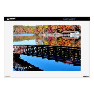 Autumn Lake Skin Decal For Laptop
