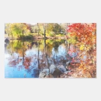 Autumn Lake Stickers