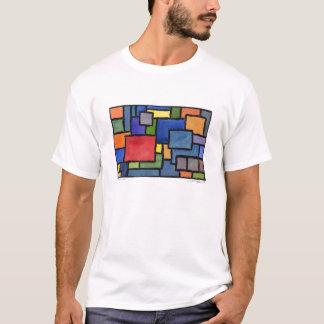 "Autumn Lake ""SWANKY SQUARES"" T-Shirt"