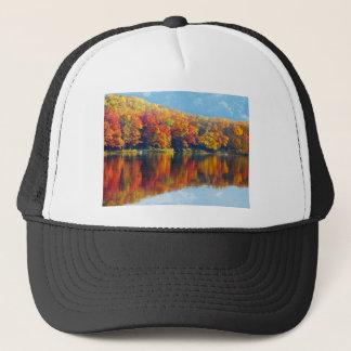 Autumn Lake Trucker Hat