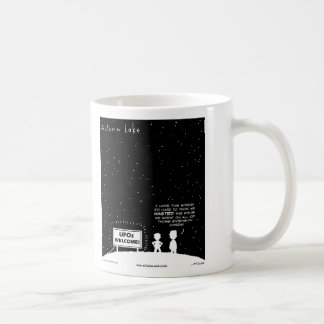 "AUTUMN LAKE ""UFO's Welcome"" Mug"