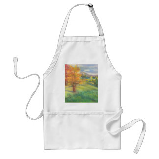 Autumn Landscape Adult Apron