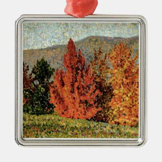 Autumn Landscape, c.1903 (oil on canvas) Metal Ornament
