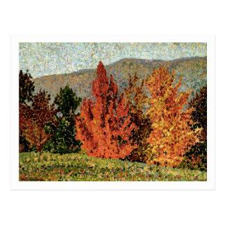 Autumn Landscape, c.1903 (oil on canvas) Postcard