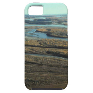 AUTUMN LANDSCAPE IN SWAMP WITH TREES IN FALL COLOR iPhone SE/5/5s CASE
