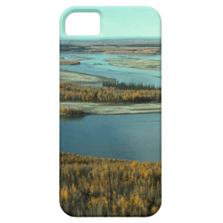 AUTUMN LANDSCAPE ON THE RIVER SURROUNDED BY TREES iPhone SE/5/5s CASE