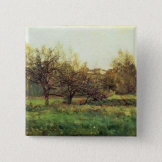 Autumn Landscape Pinback Button
