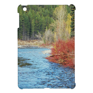 Autumn landscape print ipad case
