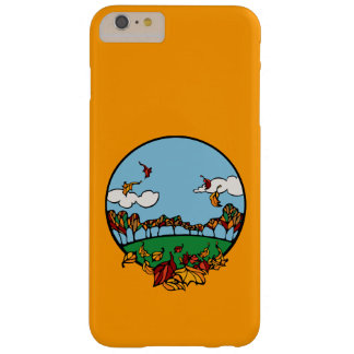 Autumn Landscape Scene Barely There iPhone 6 Plus Case