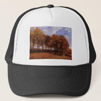 Autumn landscape, Vincent  van Gogh Trucker Hat