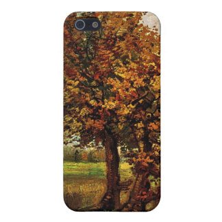 Autumn Landscape with Four Trees by van Gogh Cover For iPhone 5