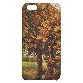 Autumn Landscape with Four Trees by van Gogh iPhone 5C Cover