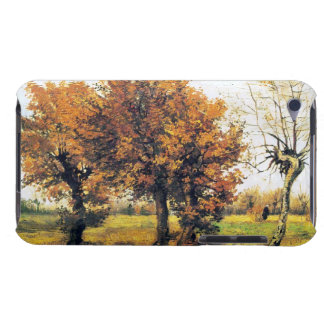 Autumn Landscape with Four Trees iPod Case-Mate Cases