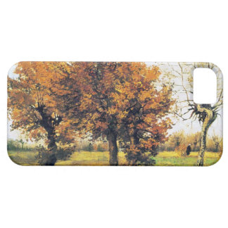 Autumn Landscape with Four Trees iPhone 5 Case