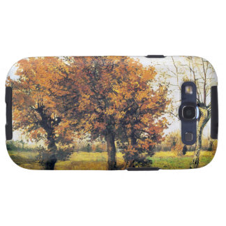 Autumn Landscape with Four Trees Galaxy SIII Case