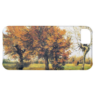 Autumn Landscape with Four Trees Cover For iPhone 5C
