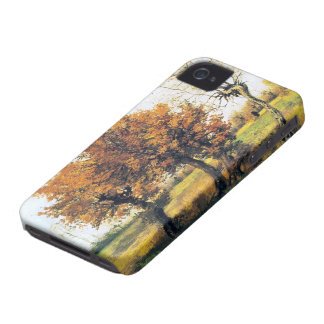 Autumn Landscape with Four Trees iPhone 4 Covers