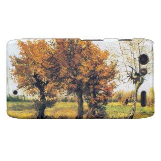 Autumn Landscape with Four Trees Droid RAZR Covers