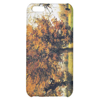 Autumn Landscape with Four Trees iPhone 5C Cases