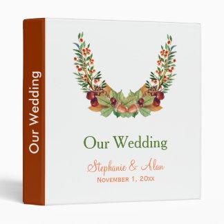 Autumn Laurel Fall Wedding Binder