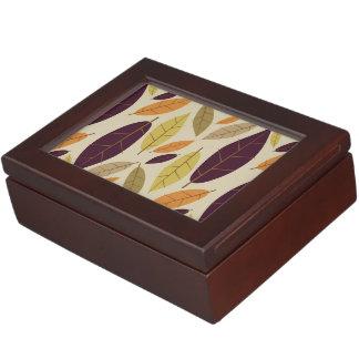 Autumn Leaf Assortment keepsake box