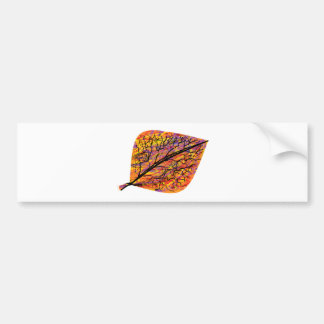 Autumn Leaf Bumper Sticker