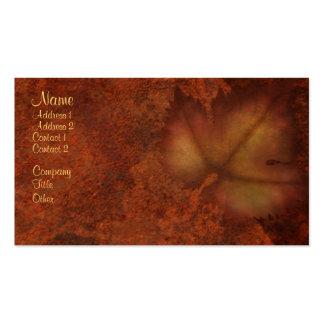 Autumn Leaf Business Cards