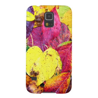 Autumn Leaf Collage Case For Galaxy S5