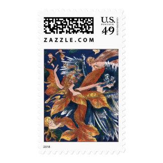 Autumn Leaf Fairies Stamps