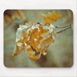 Autumn leaf mousepad mousepad