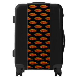 Autumn Leaf Pattern Luggage