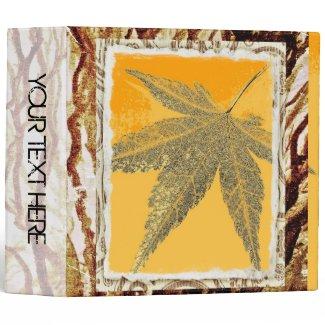 Autumn leaf photo album 2 binders
