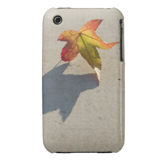 Autumn Leaf with Shadow Case-Mate iPhone 3 Case