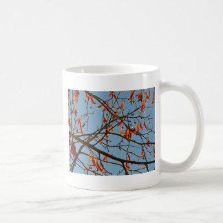 Autumn leafs coffee mug