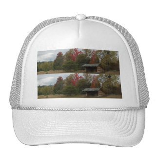 Autumn Leanto Trees and Sky Bookmark Trucker Hats