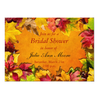 Autumn Leaves 1 Card