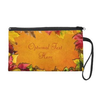 Autumn Leaves 1 Wristlet
