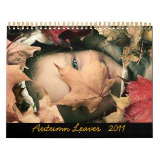 Autumn leaves 2011 Calendar