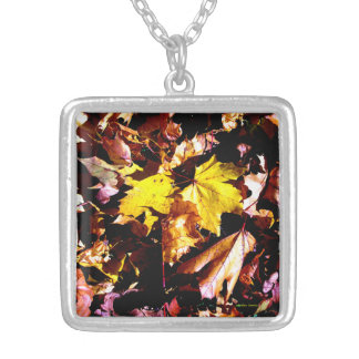 """Autumn Leaves 2"" Necklace"