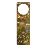 Autumn Leaves and Stream Reflection at Greenbelt Door Hanger