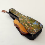 Autumn Leaves and Stream Reflection Guitar Case