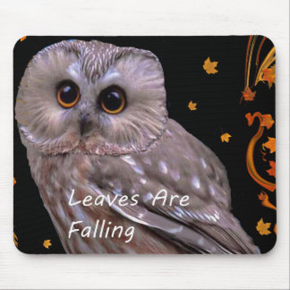 Autumn Leaves Are Falling. Mouse Pad