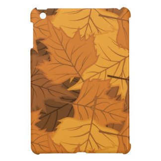 Autumn leaves background cover for the iPad mini
